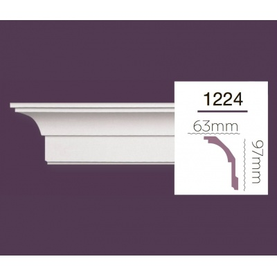 Карниз гладкий Home Decor 1224F Flex/Гибкий