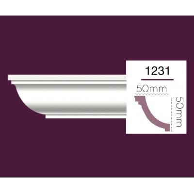 Карниз гладкий Home Decor 1231F Flex/Гибкий