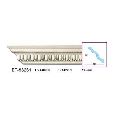 карниз с орнаментом classic home et-88261