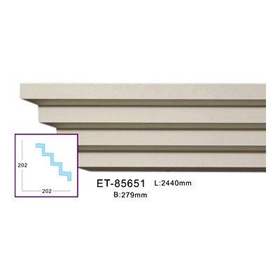 карниз гладкий classic home et-85651