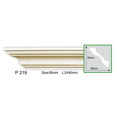 карниз гладкий gaudi decor p219f flex/гибкий