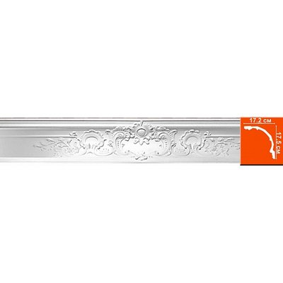 карниз с орнаментом decomaster dp 5041