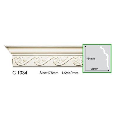 карниз с орнаментом gaudi decor c1034