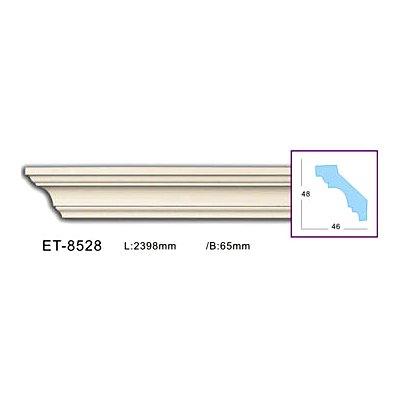 карниз гладкий classic home et-8528 flex/гибкий