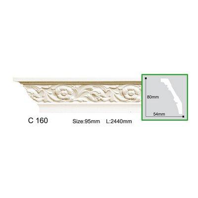 карниз с орнаментом gaudi decor c160