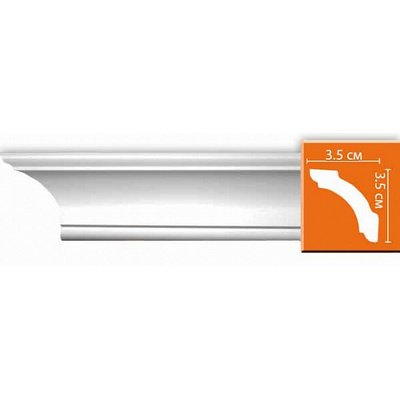 карниз гладкий decomaster 96250