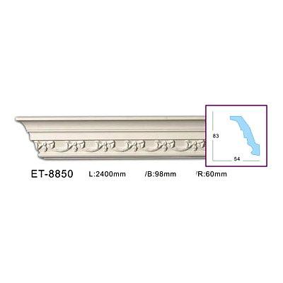 карниз с орнаментом classic home et-8850
