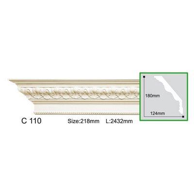 карниз с орнаментом gaudi decor c110