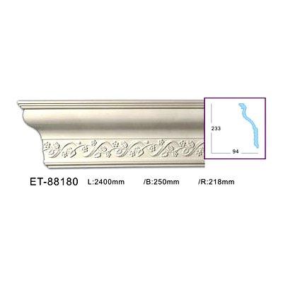 карниз с орнаментом classic home et-88180