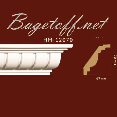 карниз с орнаментом classic home new hm-12070