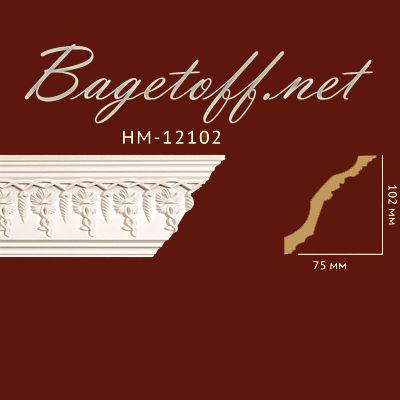 карниз с орнаментом classic home new hm-12102
