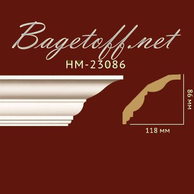 карниз гладкий classic home new hm-23086