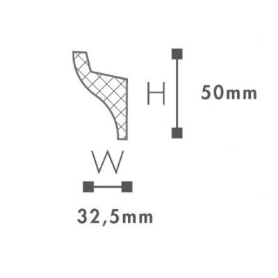 карниз гладкий nmc il3