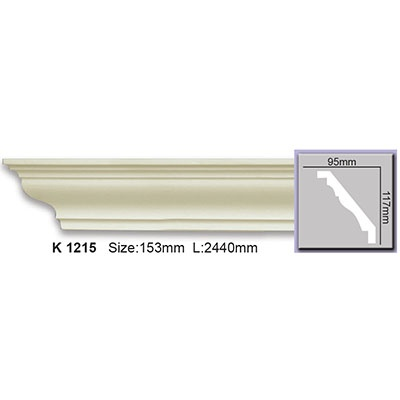 карниз гладкий harmony k1215 flex/гибкий