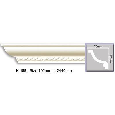 карниз с орнаментом harmony k189 flex/гибкий
