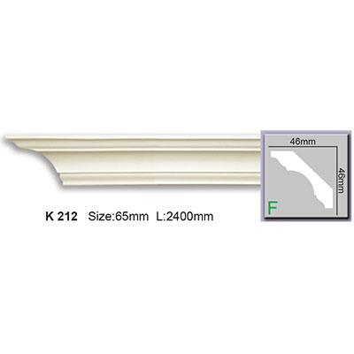 карниз гладкий harmony k212