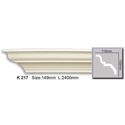 карниз гладкий harmony k217 flex/гибкий