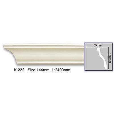 карниз гладкий harmony k222 flex/гибкий