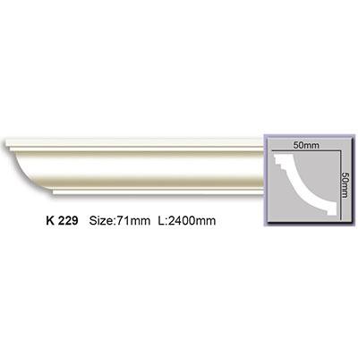 карниз гладкий harmony k229