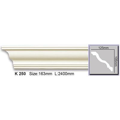 карниз гладкий harmony k250