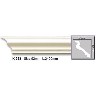карниз гладкий harmony k258 flex/гибкий