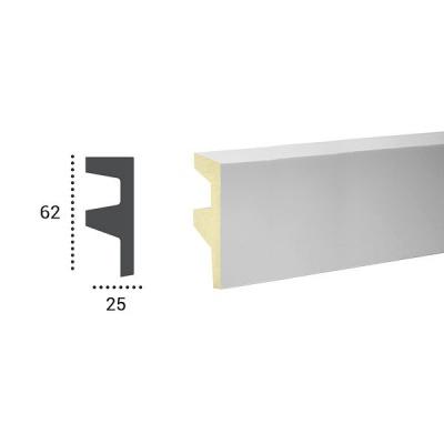 карниз для скрытого освещения tesori kf 501 flex/гибкий