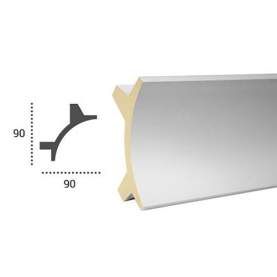 карниз для скрытого освещения tesori kf 703 flex/гибкий