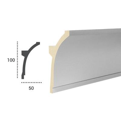 карниз для скрытого освещения tesori kf 704 flex/гибкий