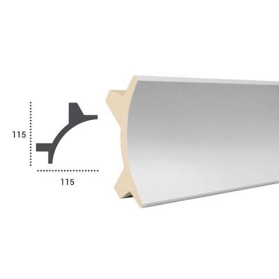 карниз для скрытого освещения tesori kf 706flex/гибкий