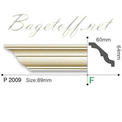 карниз гладкий gaudi decor p2009f flex/гибкий