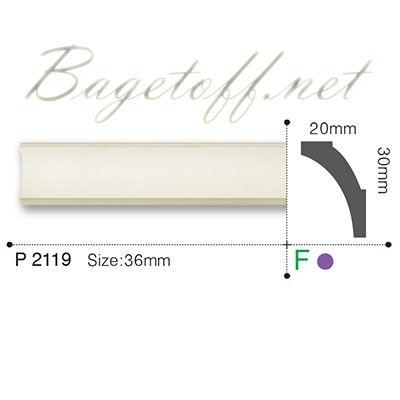 карниз гладкий gaudi decor p2119f flex/гибкий