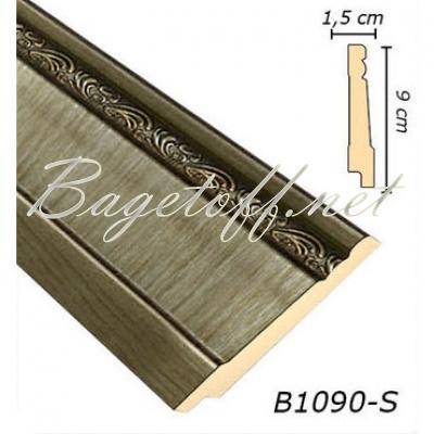 плинтус арт-багет b1090-s