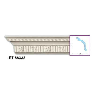 карниз с орнаментом classic home et-88332