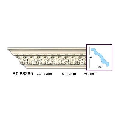 карниз с орнаментом classic home et-88260