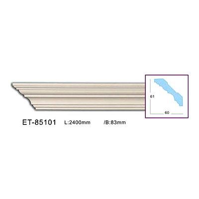 карниз гладкий classic home et-85101 flex/гибкий