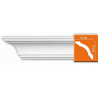 карниз гладкий decomaster 96110