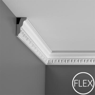 карниз с орнаментом orac decor c212 flex/гибкий