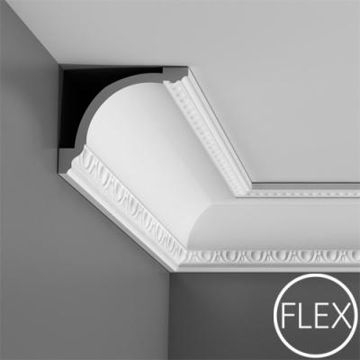 карниз с орнаментом orac decor c216 flex/гибкий