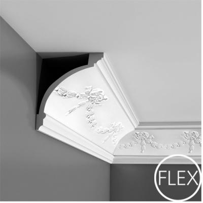 карниз с орнаментом orac decor c218 flex/гибкий