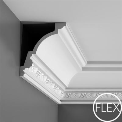 карниз с орнаментом orac decor c301 flex/гибкий