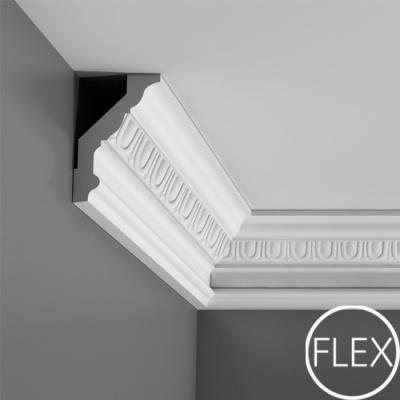 карниз с орнаментом orac decor c302 flex/гибкий