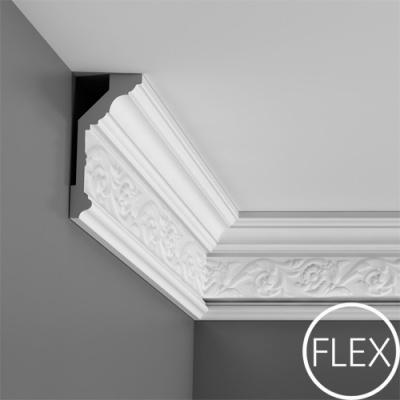 карниз с орнаментом orac decor c303 flex/гибкий