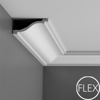 карниз гладкий orac decor c331 flex/гибкий