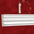 Молдинг гипсовый с орнаментом МР09701